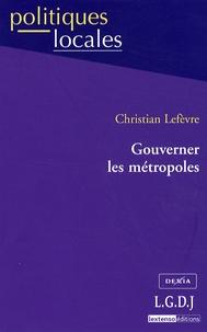 Goodtastepolice.fr Gouverner les métropoles Image