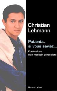 Deedr.fr Patients, si vous saviez - Confessions d'un médecin généraliste Image