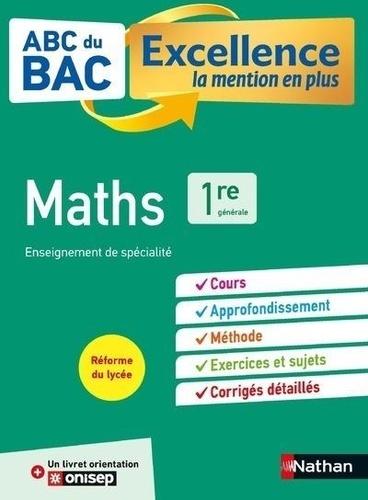 Mathématiques 1re Enseignement de spécialité  Edition 2019