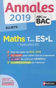 Christian Lixi - Mathématiques Tle ES-L + spécialité ES - Sujets.