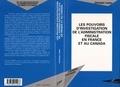 Christian Lopez - Les pouvoirs d'investigation de l'administration fiscale en France et au Canada.