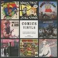 Christian Marmonnier - Comics Vinyls - 50 ans de complicité entre la bande dessinée et la musique.