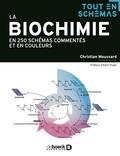 Christian Moussard - La biochimie en 250 schémas commentés et en couleurs.