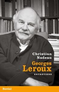 Histoiresdenlire.be Georges Leroux, entretiens Image