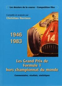 Christian Naviaux - Grands Prix de F1 Hors Championnat du Monde.