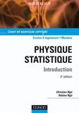 Christian Ngô et Hélène Ngô - Physique statistique - 3ème édition.