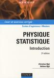 Christian Ngô et Hélène Ngô - Physique statistique - Introduction.