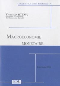 Christian Ottavj - Macroéconomie monétaire - Exercices corrigés.