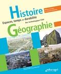 Christian Peltier et Jean-Michel Fort - Histoire Géographie Bac technologique STAV - Espaces, temps et durabilité.