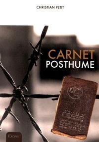 Christian Petit - Carnet posthume.