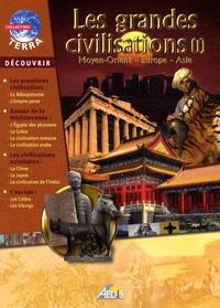 Christian Ponchon - Les grandes civilisations - Volume 1, Moyen-Orient, Europe, Asie.