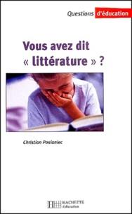 Vous avez dit littérature ?.pdf