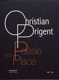 Christian Prigent - Poésie sur place. 1 CD audio