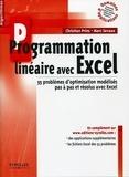 Christian Prins et Marc Sevaux - Programmation linéaire avec Excel.