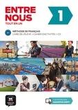 Christian Puren et Agustin Garmendia - Entre nous 1 A1 - Livre de l'élève + cahier d'activités. 2 CD audio