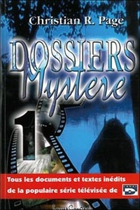 Christian Robert Page - Dossiers mystère - Tome 1.