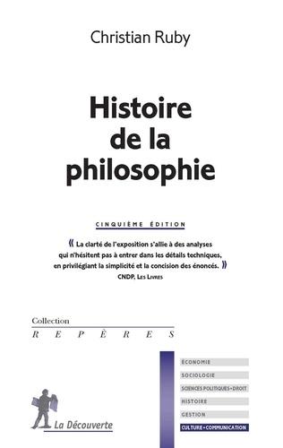 Histoire de la philosophie 5e édition