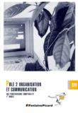 Christian Sabot et Monique Verdollin - Pôle 2, organisation et communication - Bac professionnel comptabilité, 1re année.