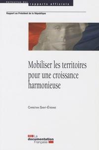 Christian Saint-Etienne - Mobiliser les territoires pour une croissance harmonieuse.