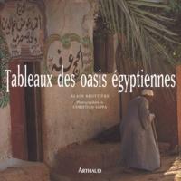 Christian Sappa et Alain Blottière - Tableaux des oasis égyptiennes.