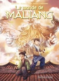 Christian Simon et  Erkol - Le monde de Maliang Tome 3 : Le miroir - Avec un ex-libris.