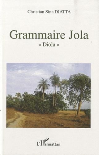 "Christian Sina Diatta - Grammaire Jola ""Diola""."