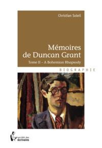 Christian Soleil - Mémoires de Duncan Grant - Tome 2.