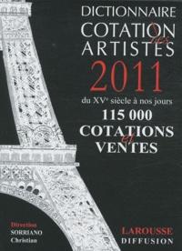 Birrascarampola.it Dictionnaire cotation des artistes 2011 Image