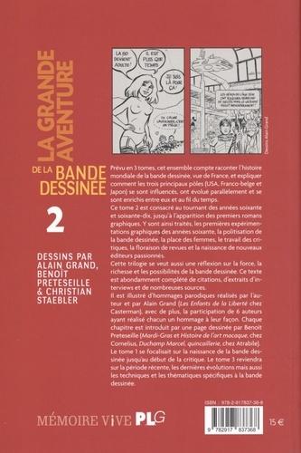 La grande aventure de la bande dessinée. Tome 2, Le tournant des années 60 et 70