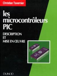 Christian Tavernier - Les microcontrôleurs PIC.