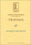Christian Touratier - Adverbe et circonstant.