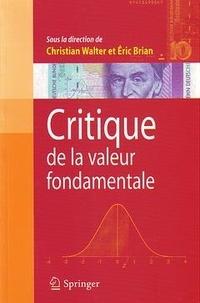 Christian Walter - Critique de la valeur fondamentale.