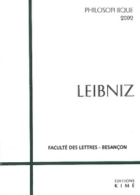 Christian Wolff et Jean Robelin - Philosophique 2002 : Leibniz.