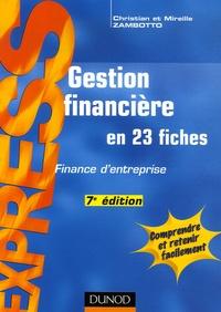 Checkpointfrance.fr Gestion financière - En 23 fiches Image