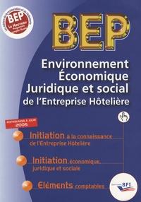Christiane Balanger - BEP Environnement Economique Juridique et Social de l'Entreprise Hôtelière.