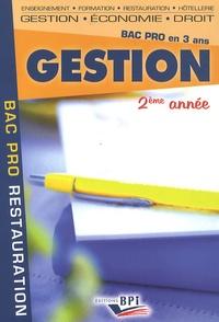 Christiane Balanger - Gestion 2ème année - Bac Pro en 3 ans.