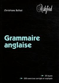 Christiane Ballasi - Grammaire anglaise.