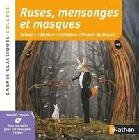 Histoiresdenlire.be Ruses, mensonges et masques - Fables - Fabliaux - Comédies - Roman de Renart, anthologie Image