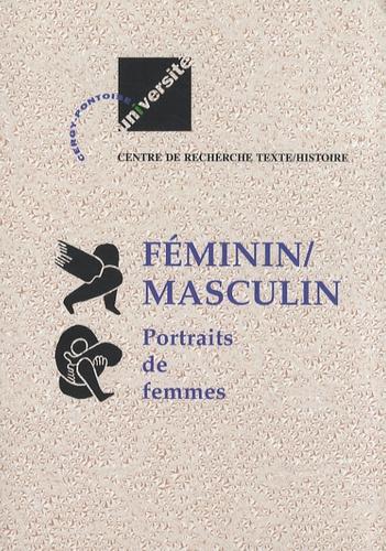 Christiane Chaulet-Achour et Michel Rolland - Féminin/Masculin - Tome 2, Portraits de femmes.