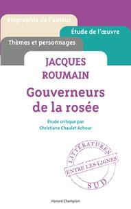 Christiane Chaulet-Achour - Jacques Roumain, Gouverneurs de la rosée.