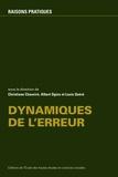 Christiane Chauviré et Albert Ogien - Dynamiques de l'erreur.