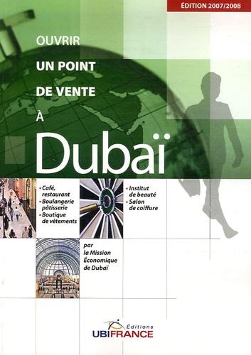 Christiane Dobel et Olivier Moaligou - Ouvrir un point de vente à Dubaï.