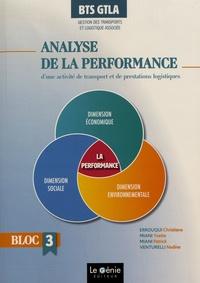 Analyse de la performance d'une activité de transports et de prestations logistiques BTS GTLA Gestion des Transports et Logistique Associée- Bloc 3 - Christiane Errouqui |