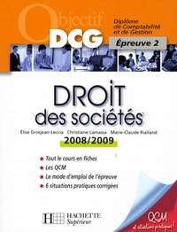 Ucareoutplacement.be Droit des sociétés - Epreuve 2 du DCG Image