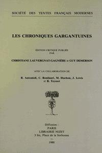Christiane Lauvergnat-Gagnière et Guy Demerson - Les chroniques gargantuines.