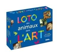 Christiane Lavaquerie-Klein et Laurence Paix-Rusterholtz - Loto des animaux dans l'art - Avec 4 plateaux, 24 cartes et 1 livret.