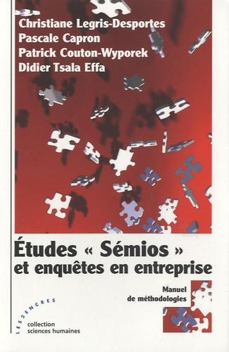 """Christiane Legris-Desportes et Pascale Capron - Etudes """"Sémios"""" et enquêtes en entreprise."""