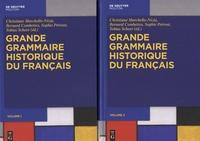 Christiane Marchello-Nizia et Bernard Combettes - Grande grammaire historique du français - 2 volumes.
