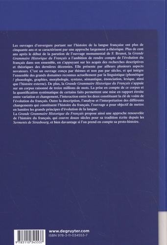 Grande grammaire historique du français. 2 volumes