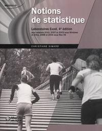 Deedr.fr Notions de statistique - Laboratoires Excel, pour versions 2010, 2007 et 2003 sous Windows, et 2011, 2008 et 2004 sous Mac OS Image
